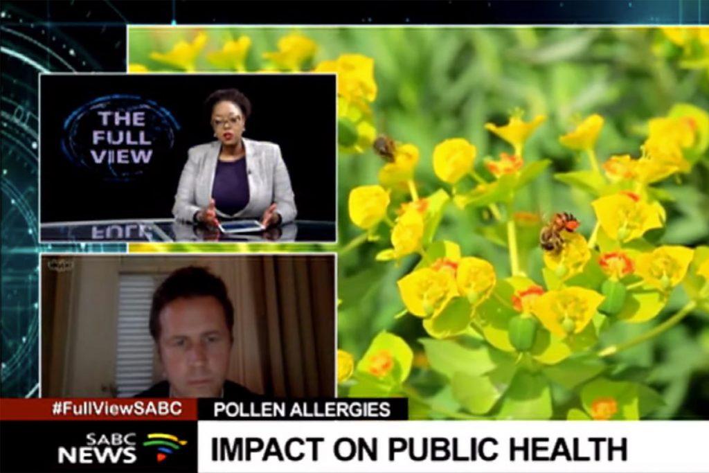 Pollen impact health